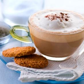 Resultado de imagen de cafe con galletitas