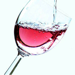 Un buen vino rosado