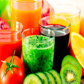 zumos naturales nutritivos y sabrosos