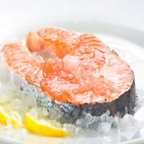 pescado congelado fileteado