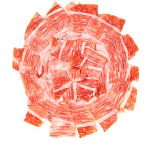 Eligiendo un buen jamón ibérico loncheado