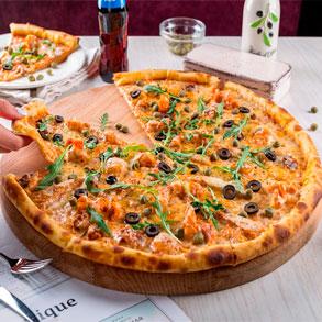 Pizzas, pizzas y más pizzas