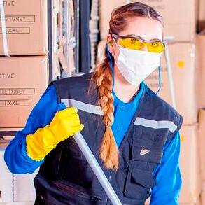 ¿Qué mascarillas desechables de protección utilizo en mi negocio?