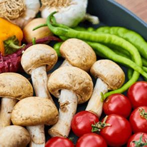 Proveedores comida vegana