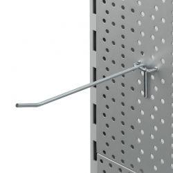 Ganchos para estanterias perforadas
