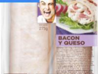 Proveedores Bacon queso