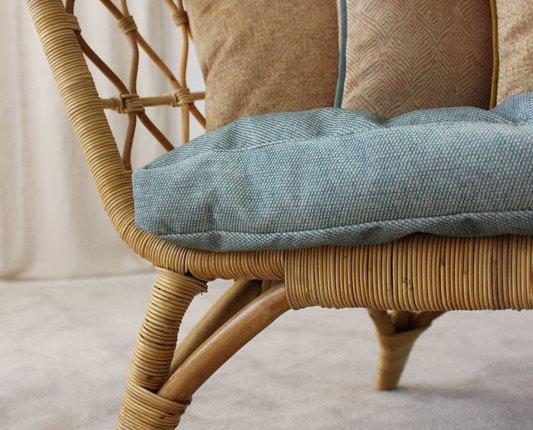Colección Sahara. un diseño de espiga y un coordinado liso