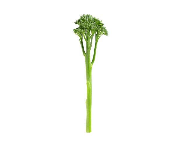 Broccolini. Se puede comer bimi de cualquier forma, normalmente en crudo, a la plancha o al vapor