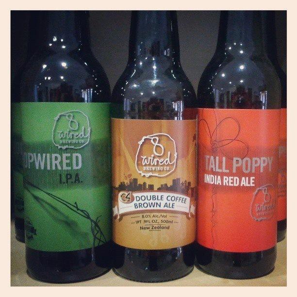Bebidas Alcohólicas. Cervezas importadas desde Nueva Zelanda