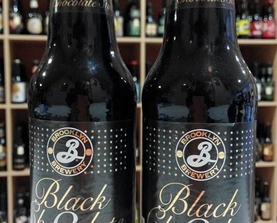 Cerveza Black Chocolate Stout. Elaborada por Brooklyn Brewery en Nueva York