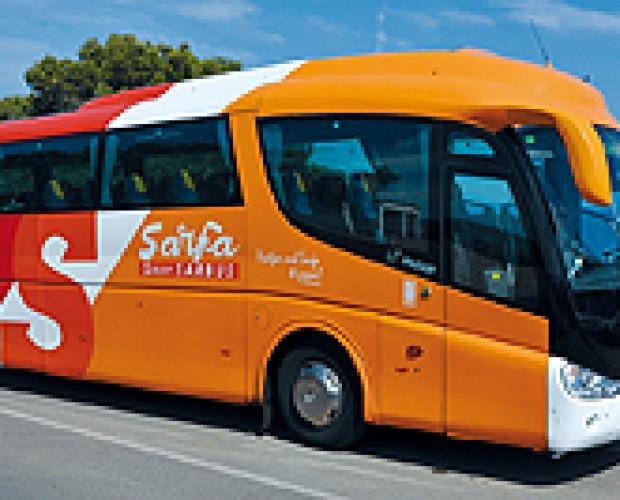 Transporte de viajeros. Autobús de transporte de pasajeros