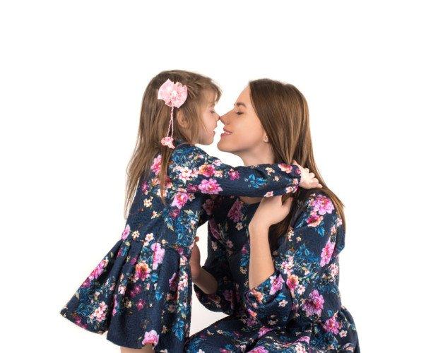 Vestidos. Moda madre e hija