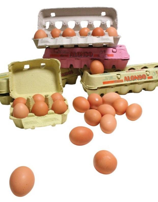 Huevos frescos. Huevos frescos de gallina