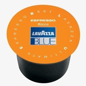 Cápsulas Lavazza Blue. 100 cápsulas de café 40% arabica 60 robusta