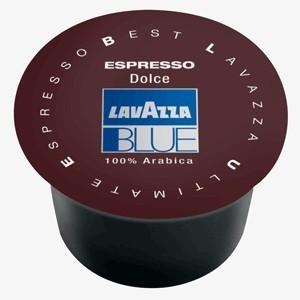 Lavazza Blue. 100 cápsulas, 100& arábica de Brasil y A. central