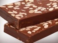 Turrón chocolate almendras 300g