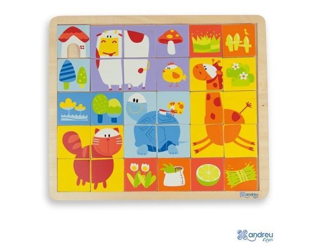 Puzzles.30 piezas