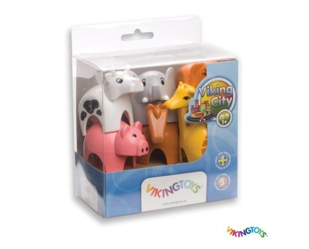 Caja Regalo Animales. 6 Piezas para regalo