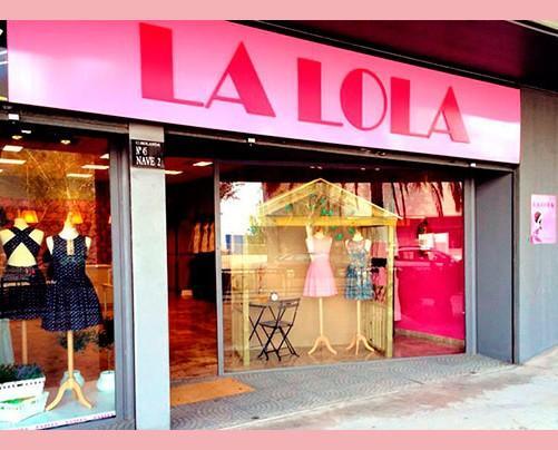 Nuestra tienda. Tienda de moda femenina La Lola.