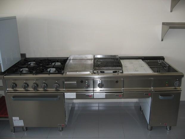 Cocina Industrial. Equipamiento para hostelería