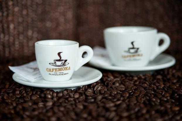 Tazas. Tazas de café Moka