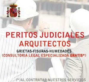 Peritos judiciales. Peritos expertos Judiciales Arquitectos