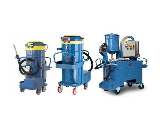 Equipos de Filtración Industrial.Aspiradoras industriales Delfin