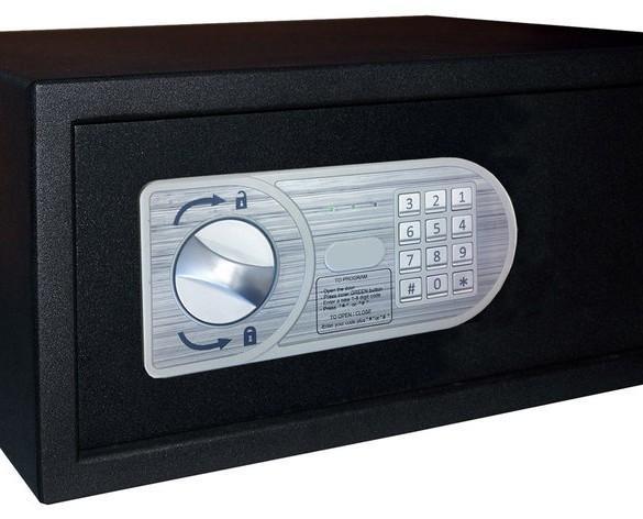 Caja fuerte safe guard. Teclado de instrucciones de uso