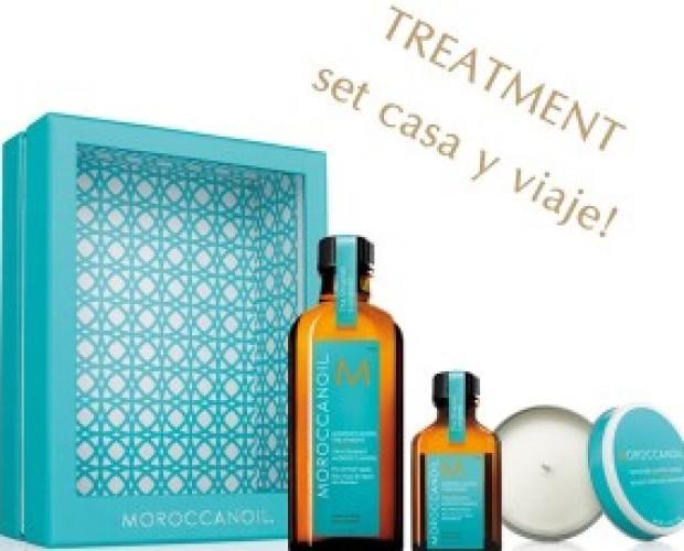 Tratamientos Reparadores del Cabello.Tratamiento Moroccanoil para el cabello, set de viaje