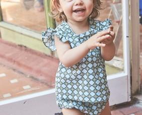 Conjunto de bebé. Conjunto de bebé verano 2018