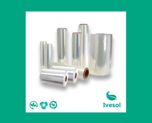 Bobinas de Film. Transparente biodegradable y compostable con barrera de vacío y map