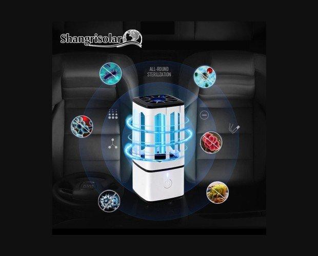 Lámparas Ultravioleta para Desinfección.Emite luz ultravioleta de alta intensidad que cubre toda la superficie