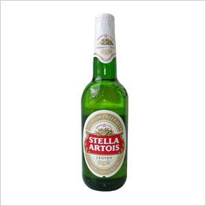 Cerveza. Distribuimos e importamos Stella Artois en Burgos