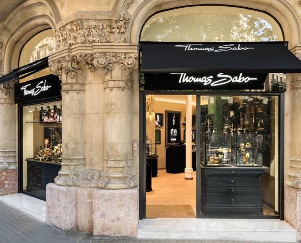 Thomas-Sabo-Ramblas. Decoración del local Thomas Sabo. Ramblas. Barcelona
