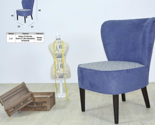 Sillon Aroa. Diseños de vanguardia