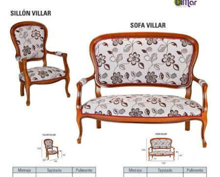 Sillón Villar. Comodidad para compartir