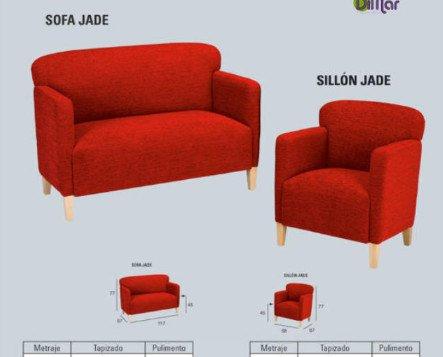 Sofa Jade. Combina con todo