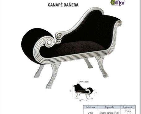 Canapé Bañera. Diseño italiano