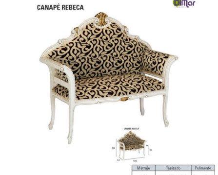 Canapé Rebeca. Corte antiguo