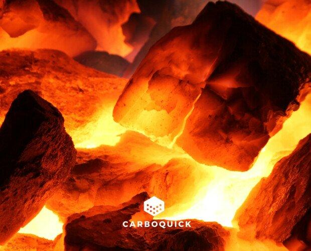 Saco Carbón 15kg profesional encin. Carbón 15kg profesional encina para hostelería. Trozos grandes de carbón duraderos.