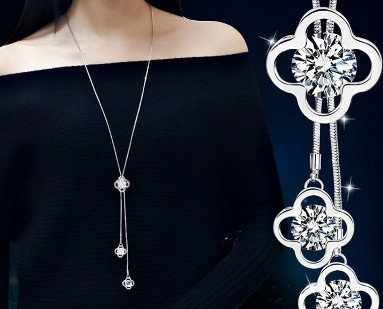 af33c785498c Hermosos diseño Collar largo. Luce magnífico Collar moda ...