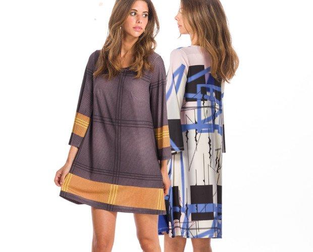 Vestidos originale. Dos largos para dos tipos de mujer: MINI y MIDI
