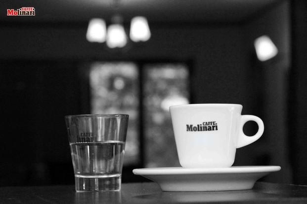 Coffee&water. Taza de café