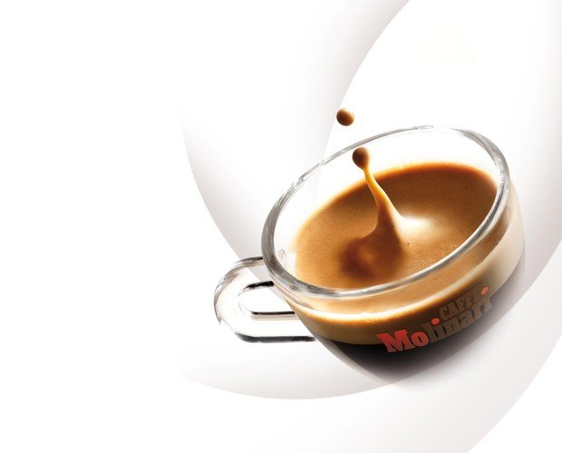 Tentador. Café delicioso y tentador