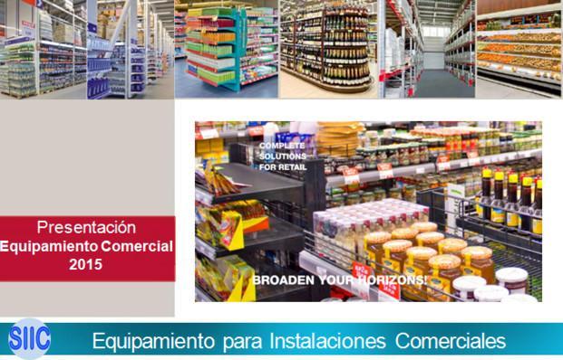 Equipamiento para Instalaciones Comercia. Equipamiento comercial de todo tipo