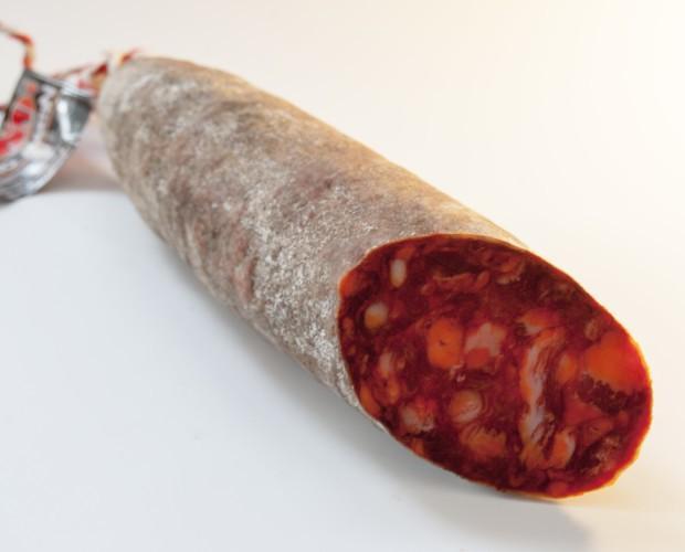 Chorizo cular ib. Chorizo curado elaborado con las mejores materias primas