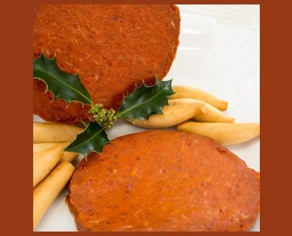 Sobrasada Ibérica. Embutido de sabor suave, perfecta para untar