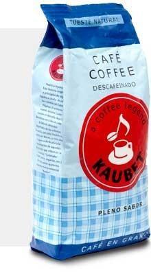 Kaubet Descafeinado. Café de aroma particular