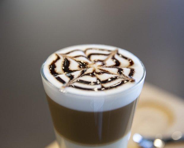 Decoración Latte. Decoraciones de café