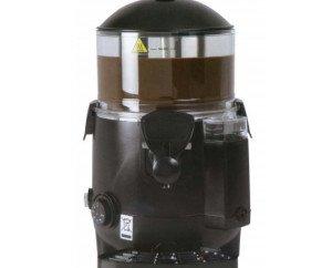 Chocolatera sencotel 5 litros. • Temperatura de trabajo +70º• Calentamiento al 'baño maría' para cocer el producto sin que se queme.